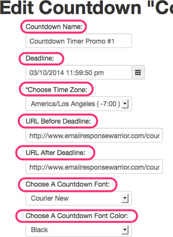 Email Countdown Timer First Steps...